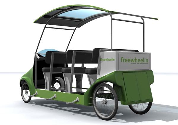 Pedal bus
